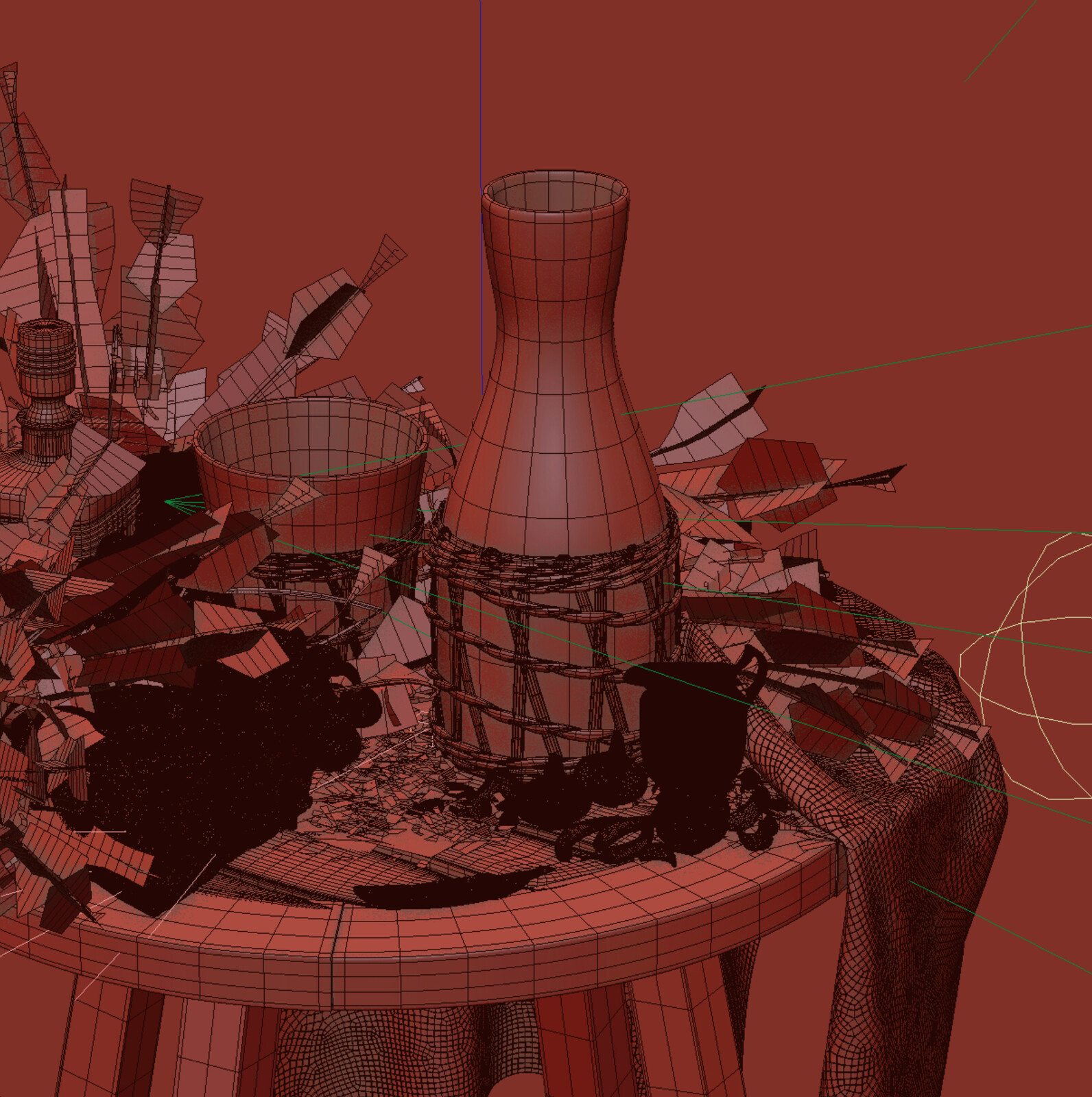 Scene Wireframe 01