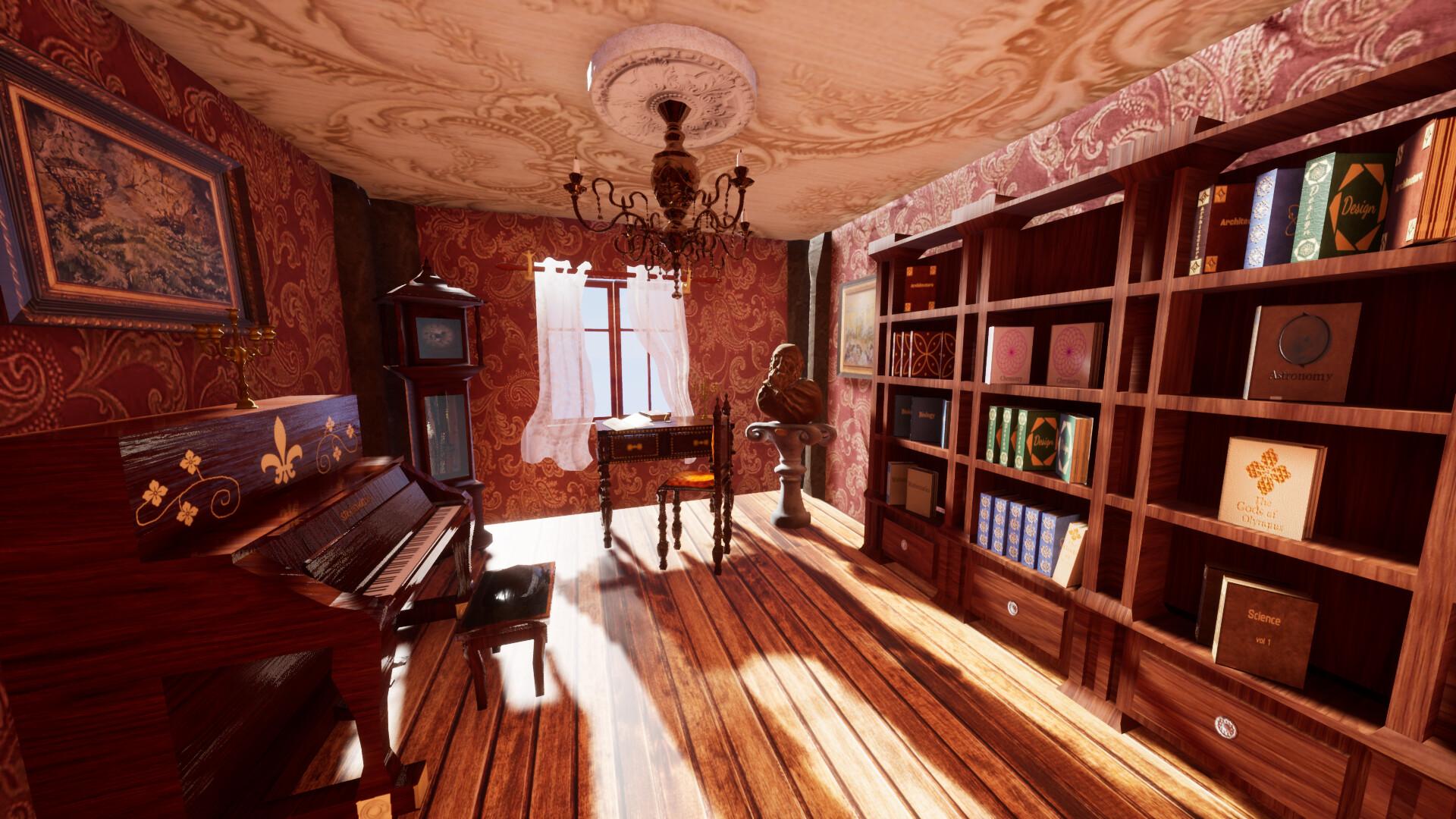 Artstation Studyroom Alexandru Surpanu