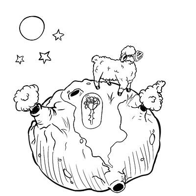 Juan meza little prince sketch