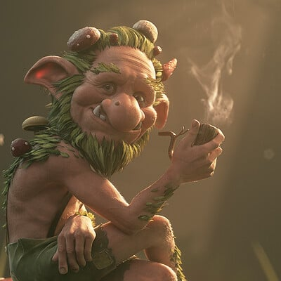 Kevin beckers forest troll small
