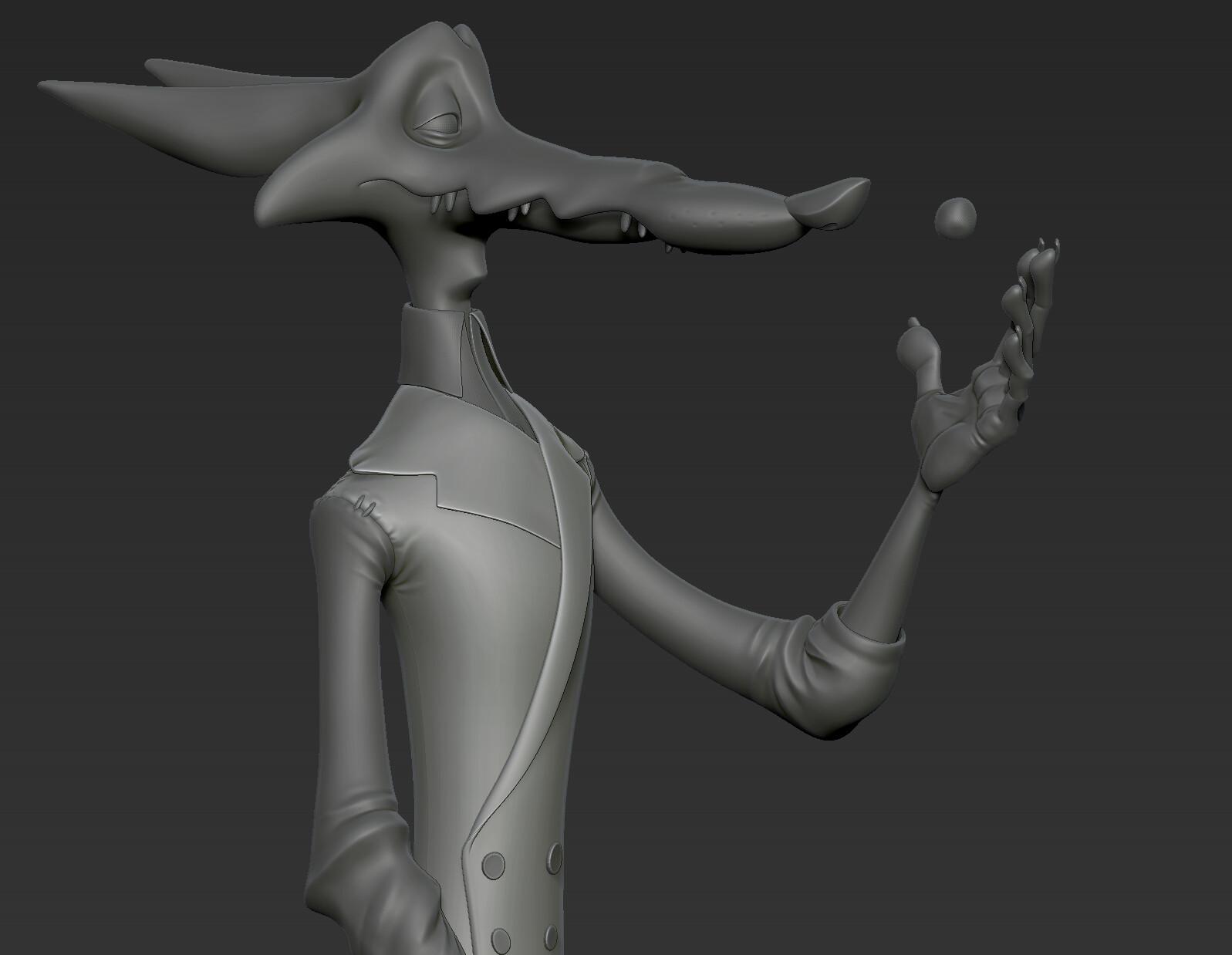 Zbrush Sculpt.