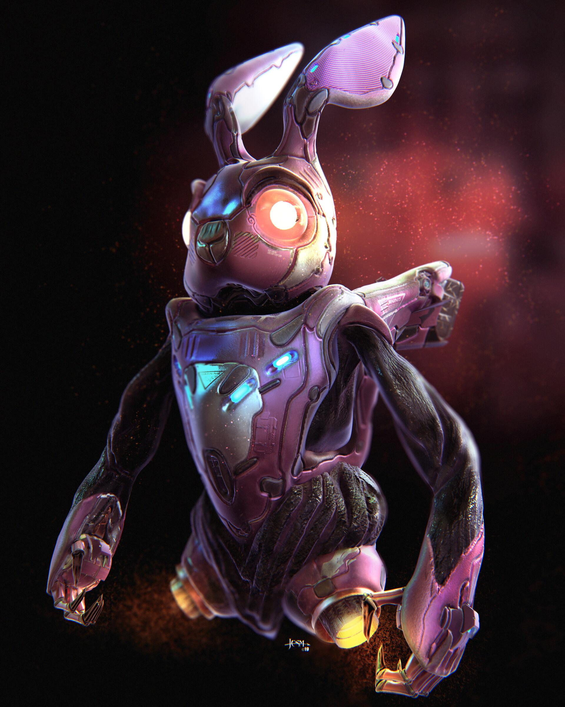 Jean paul ficition bunny