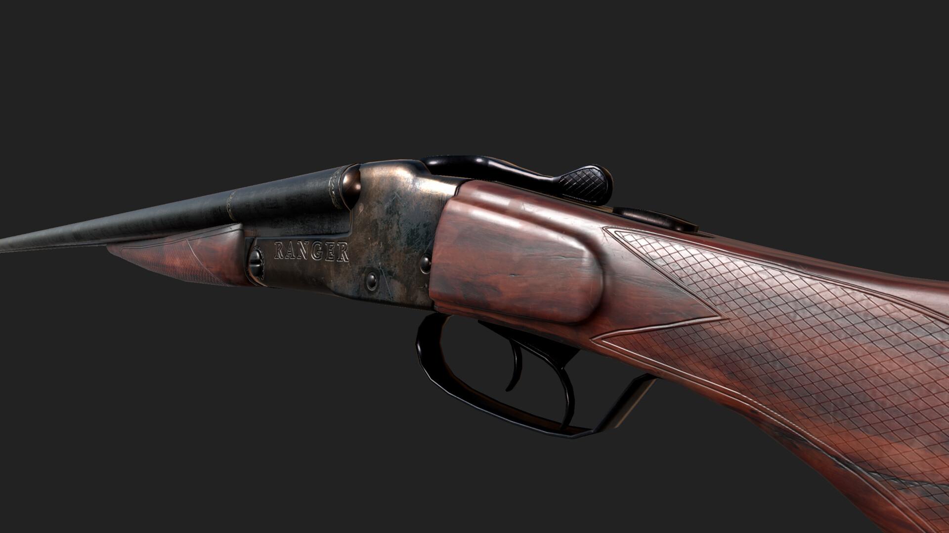Jordan cameron ranger shotgun