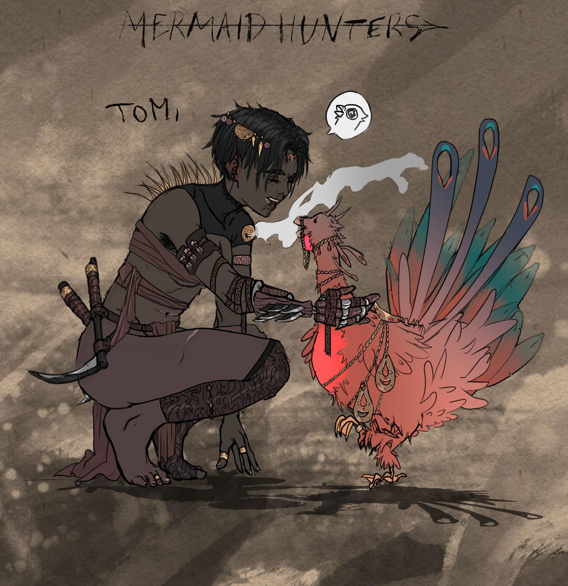 Kurtis knight mermaid hunters tommy04