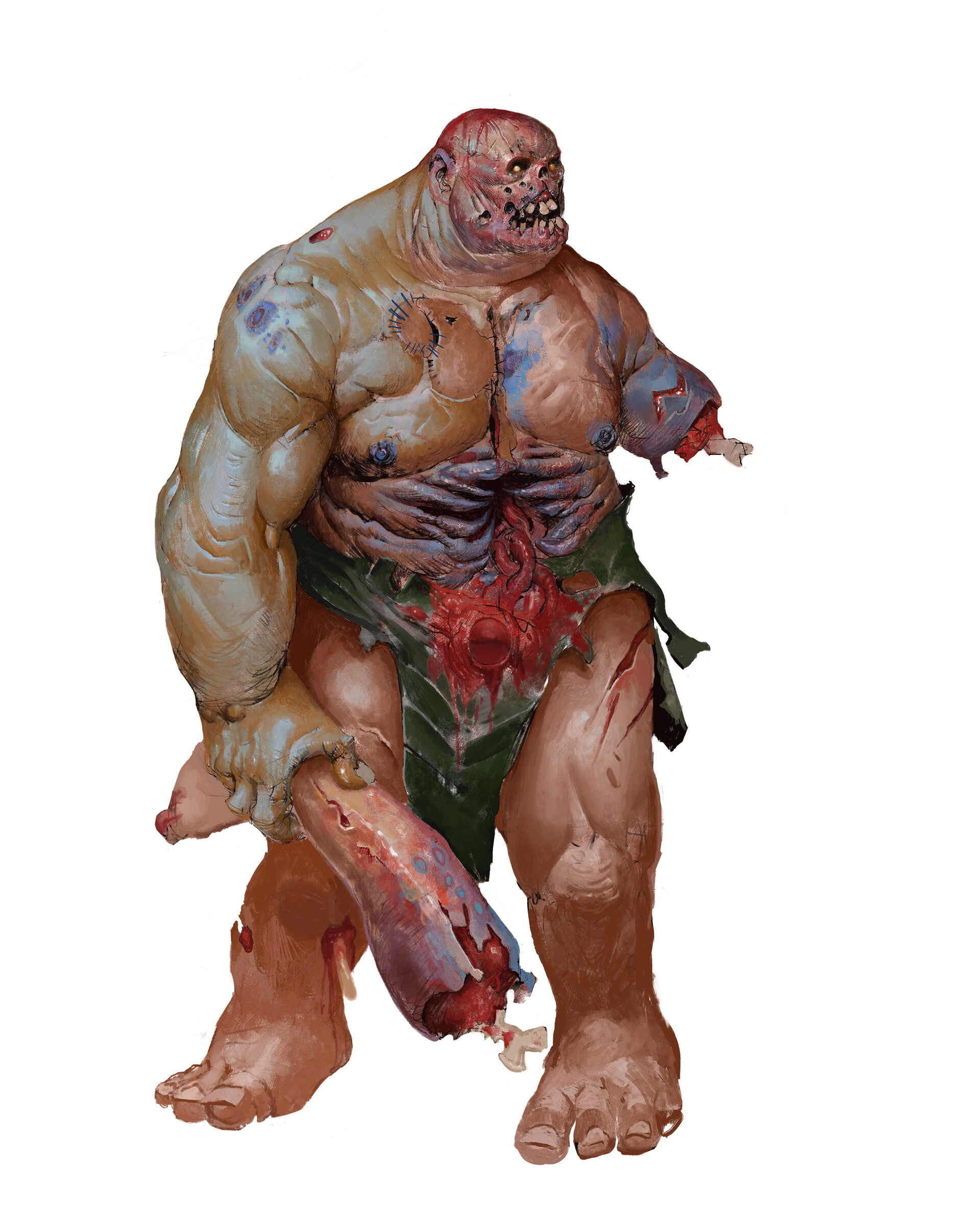 ArtStation - PATHFINDER monster manual : Zombies, Henrik