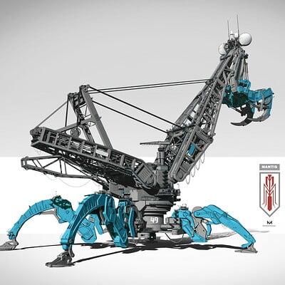 Mohammx hossein attaran mantis assembled 06