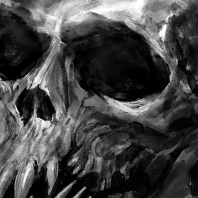 Lokkende monster skull