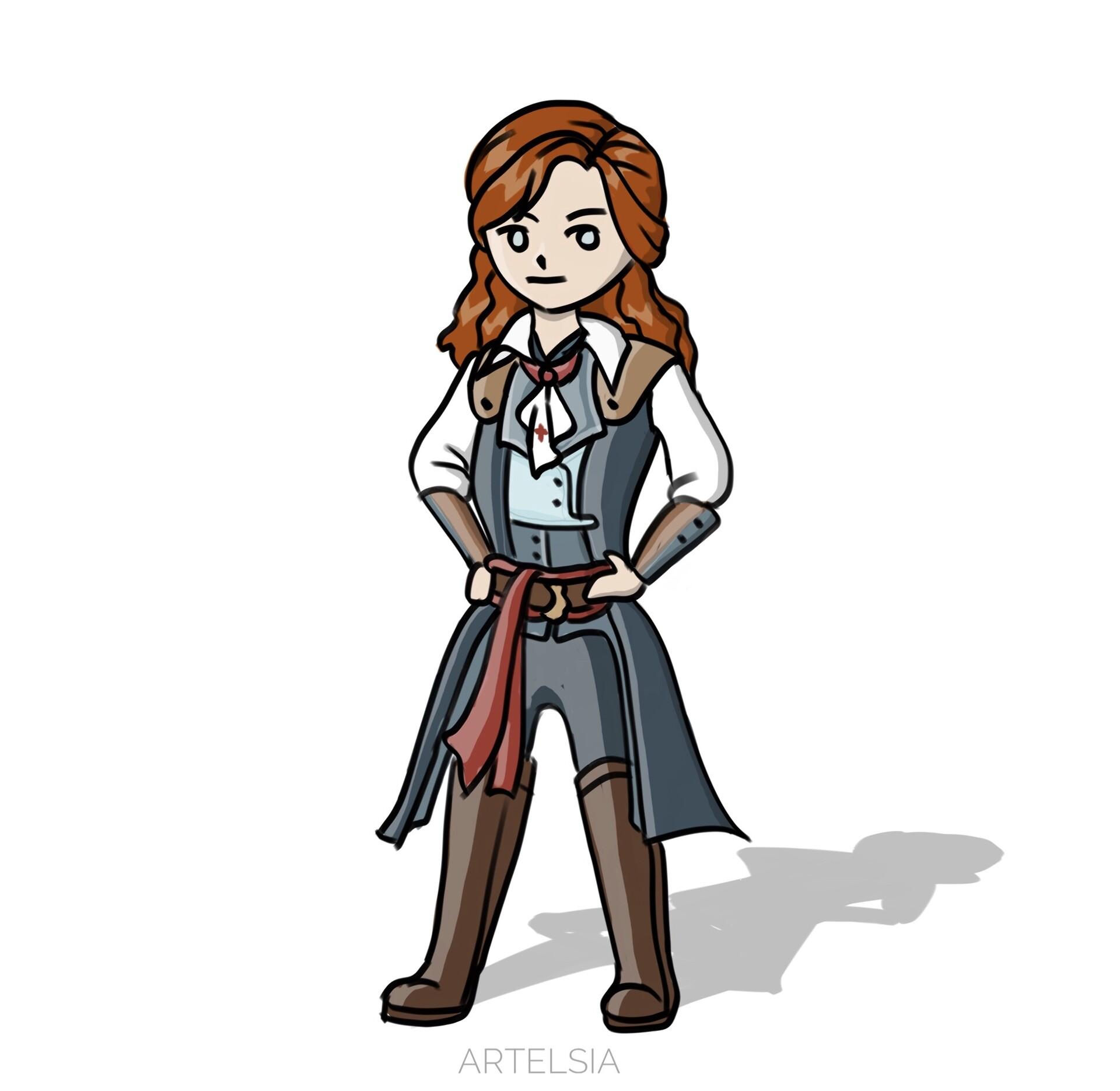Artstation Elise Assassin S Creed Unity Jane Choi