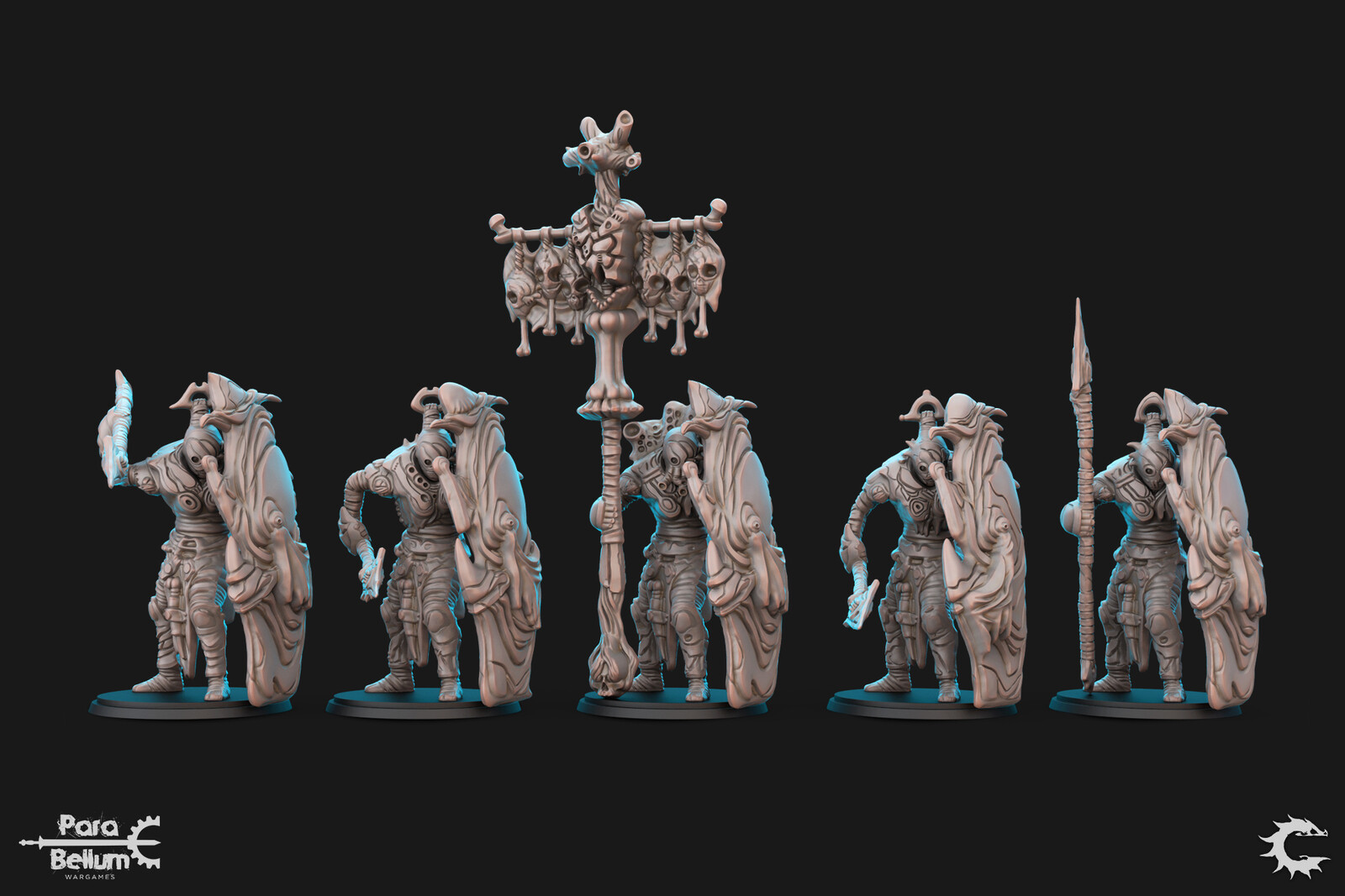 Production Ready Sculpts. 