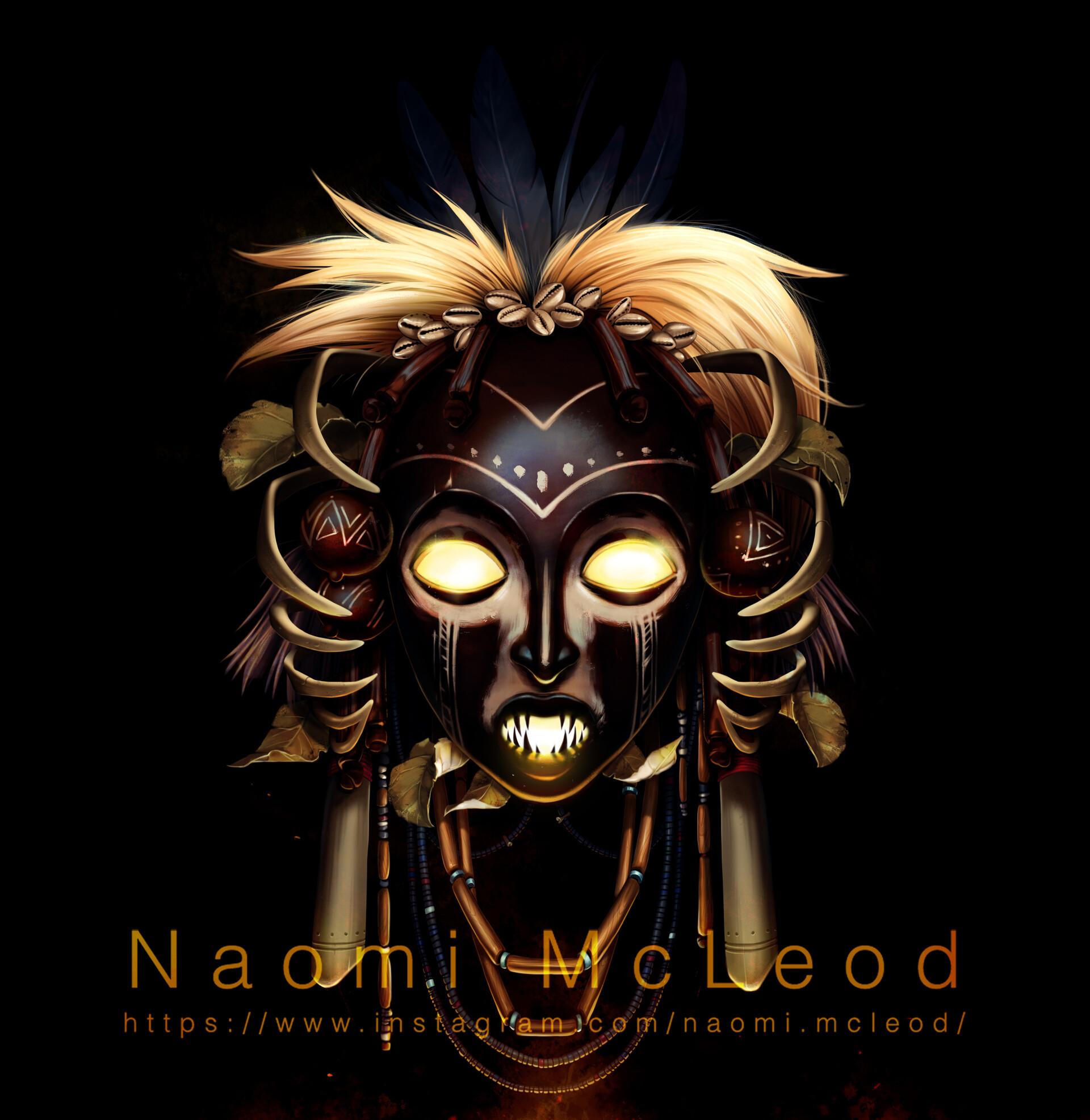 Naomi McLeod - Nature Case - Sangoma