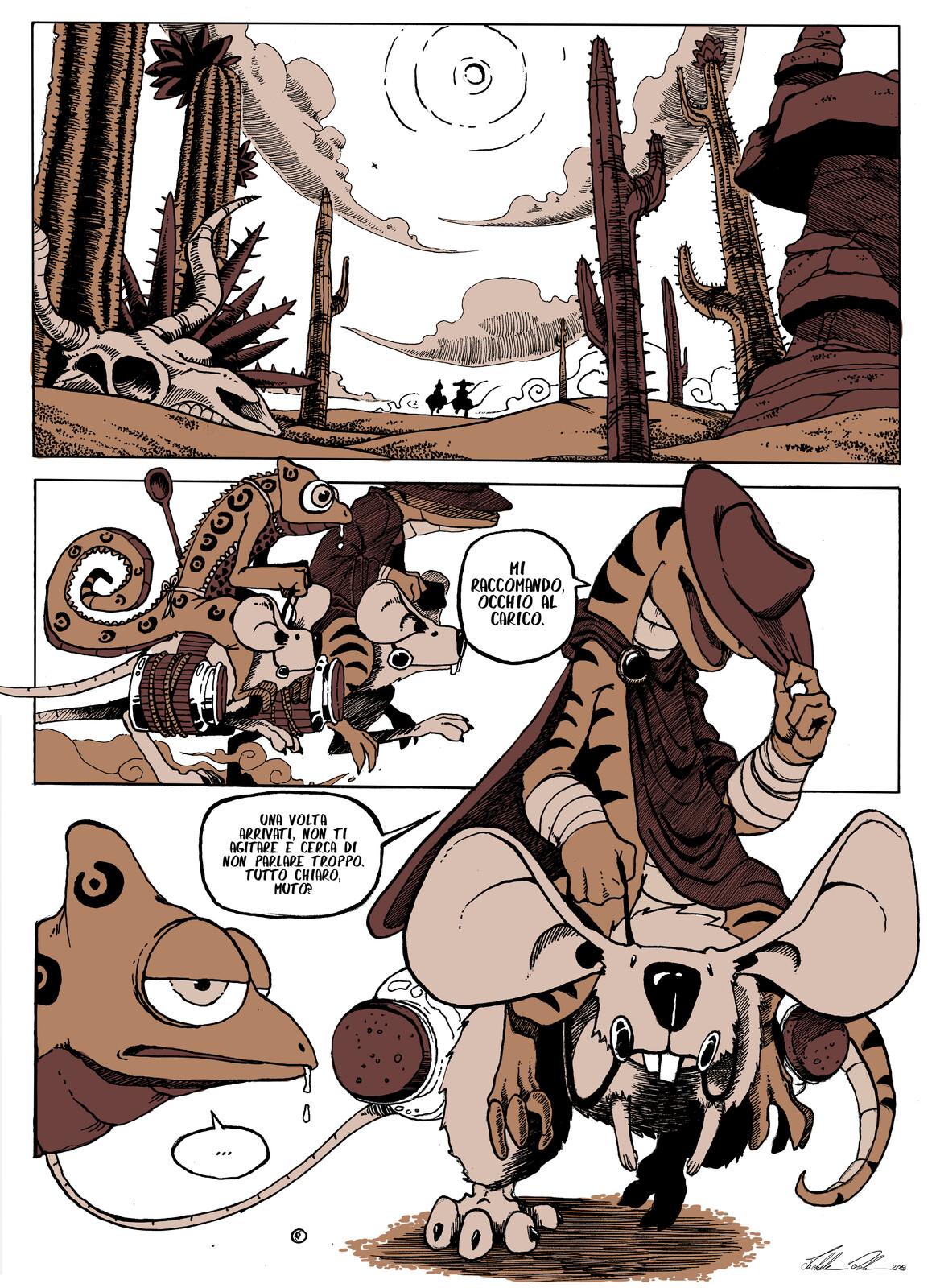 L'ORO DEL DESERTO - Page 1 ITA