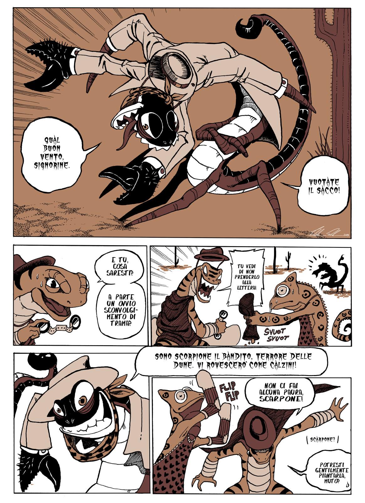 L'ORO DEL DESERTO - Page 3 ITA