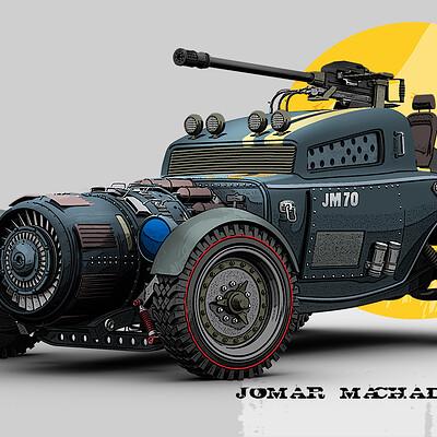 Jomar machado 204 battle hot rod step 00
