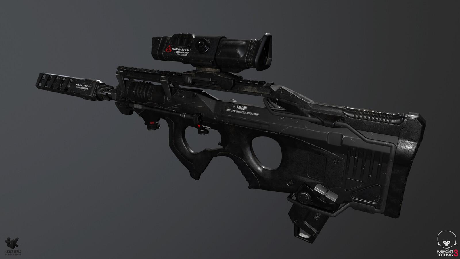 Future Assault Rifle FALCON