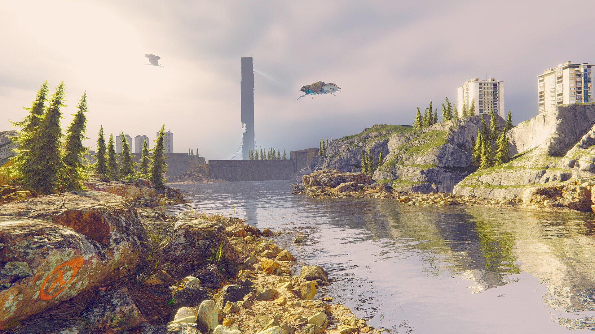 Artstation Unity Half Life 2 Water Hazard Level Deniz Sumer