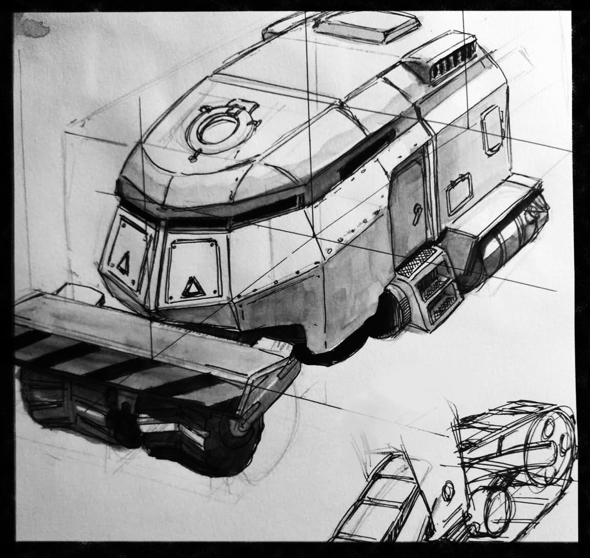 quick detail sketch
