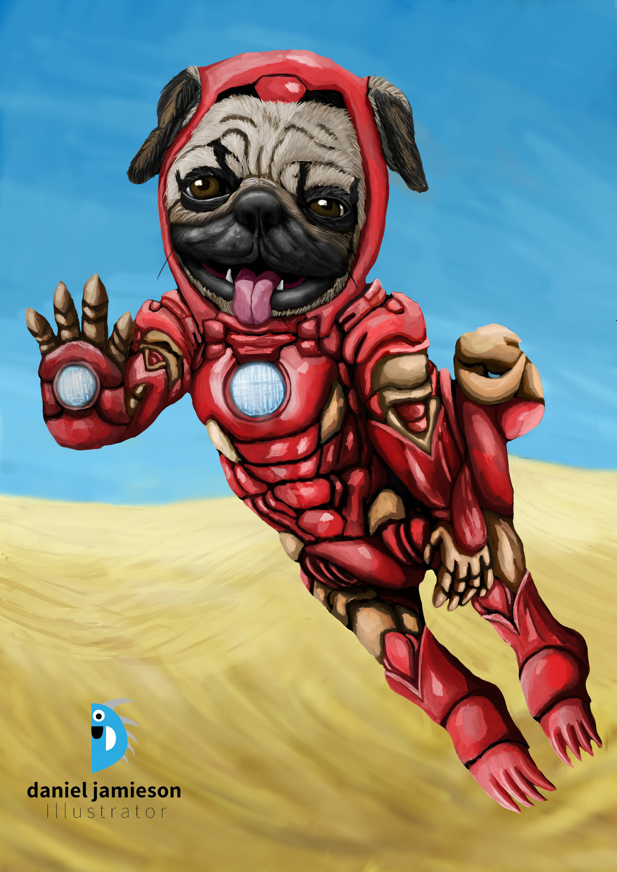 Iron pug edited