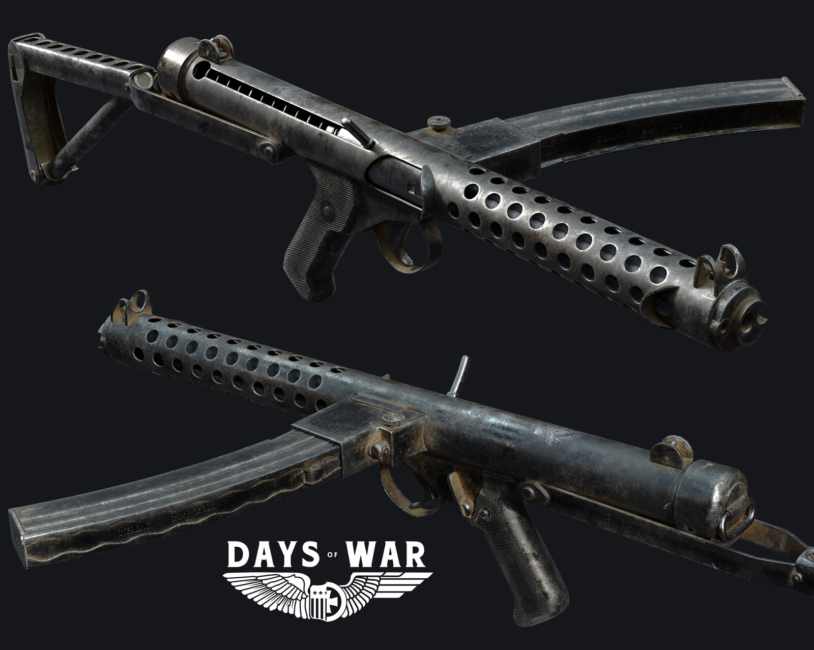 Days of War Sterling SMG