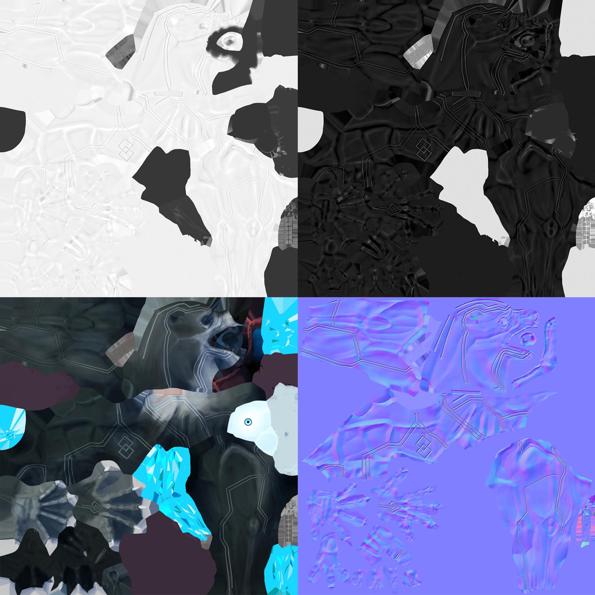 William pitzer textures