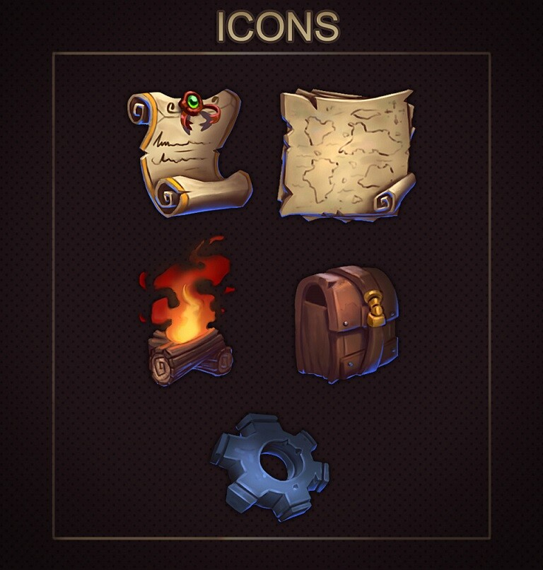 Icons - Game art / UI / Assets