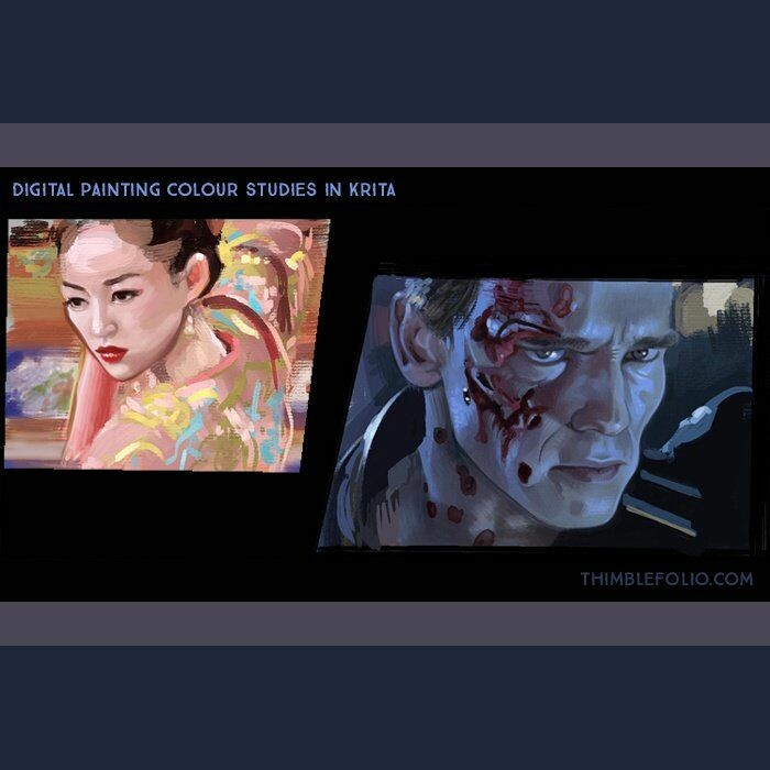 Colour studies (House of Flying Daggers, Terminator 2)