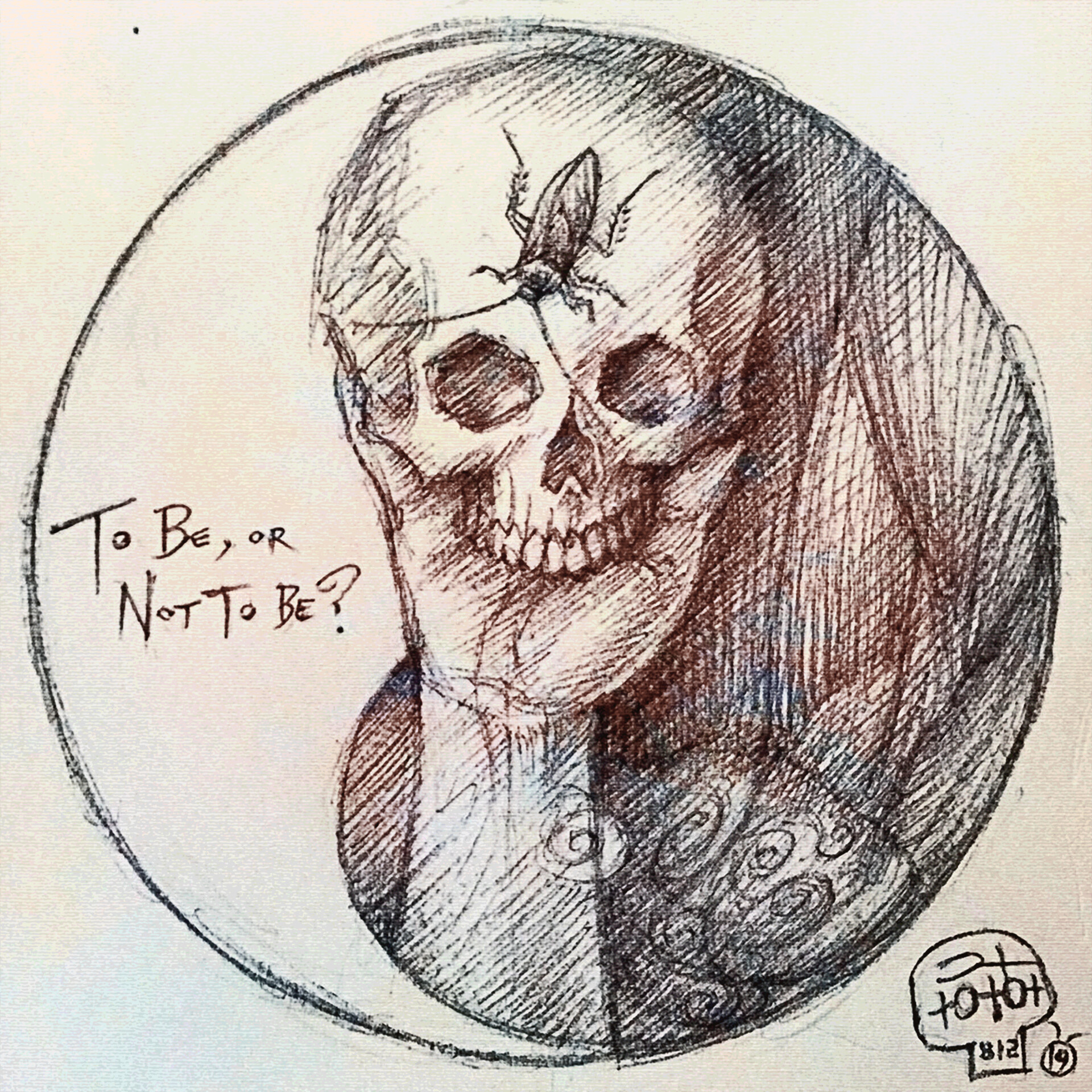 To be or Not to Be - Sketch