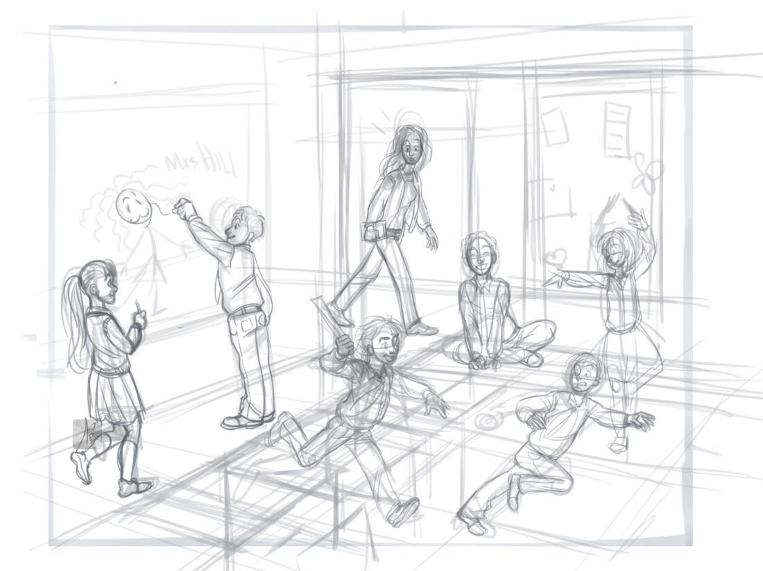 Art Teacher Drawing Base