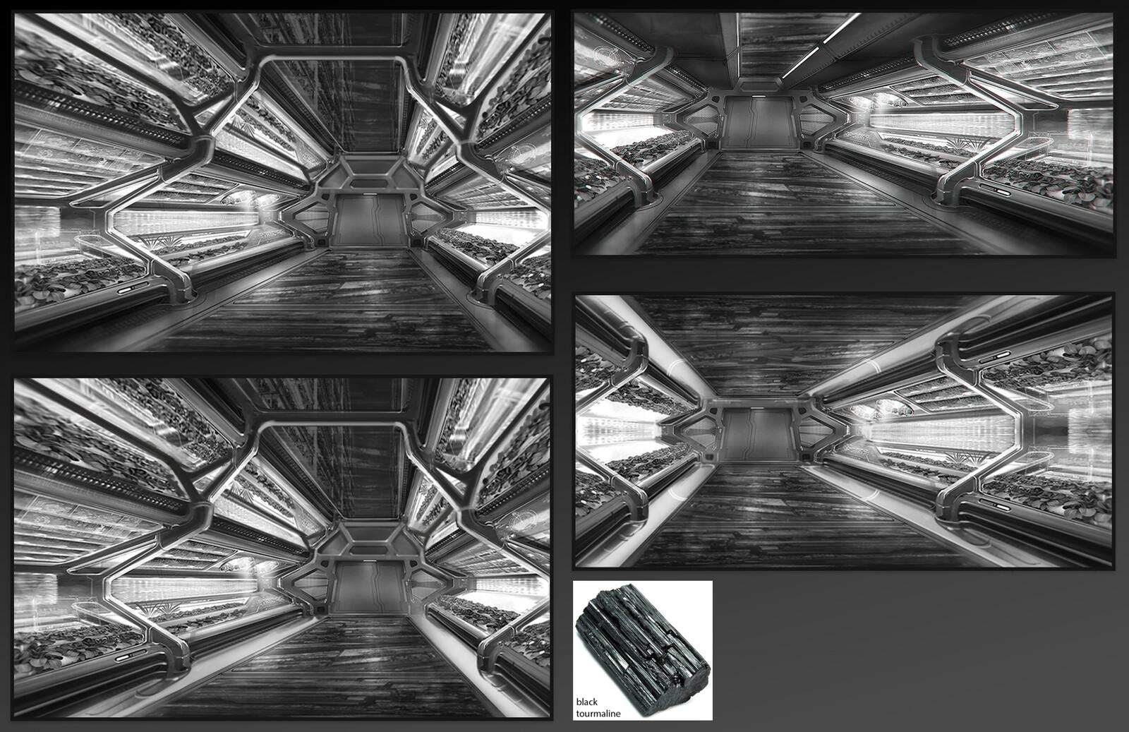 Lukari base - Hallways