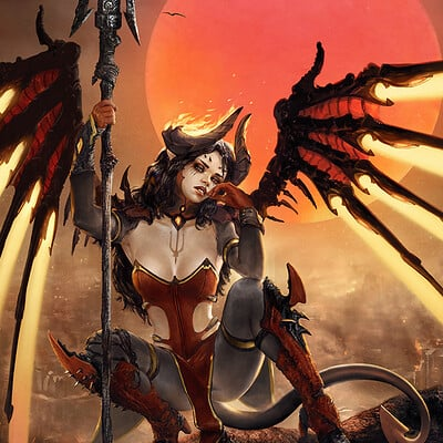 Devil (Skin) Mercy after Royo