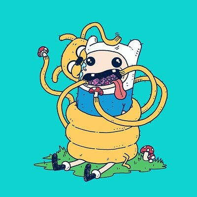 Andrew sebastian kwan adventure time lo res