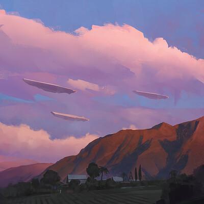 Balance sheet sunset sighting