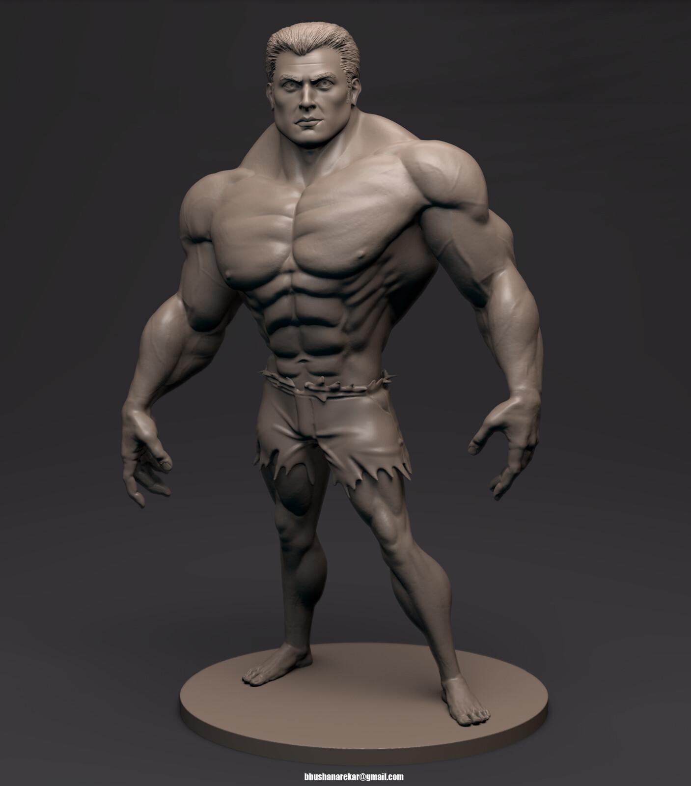 Stylized Hulk