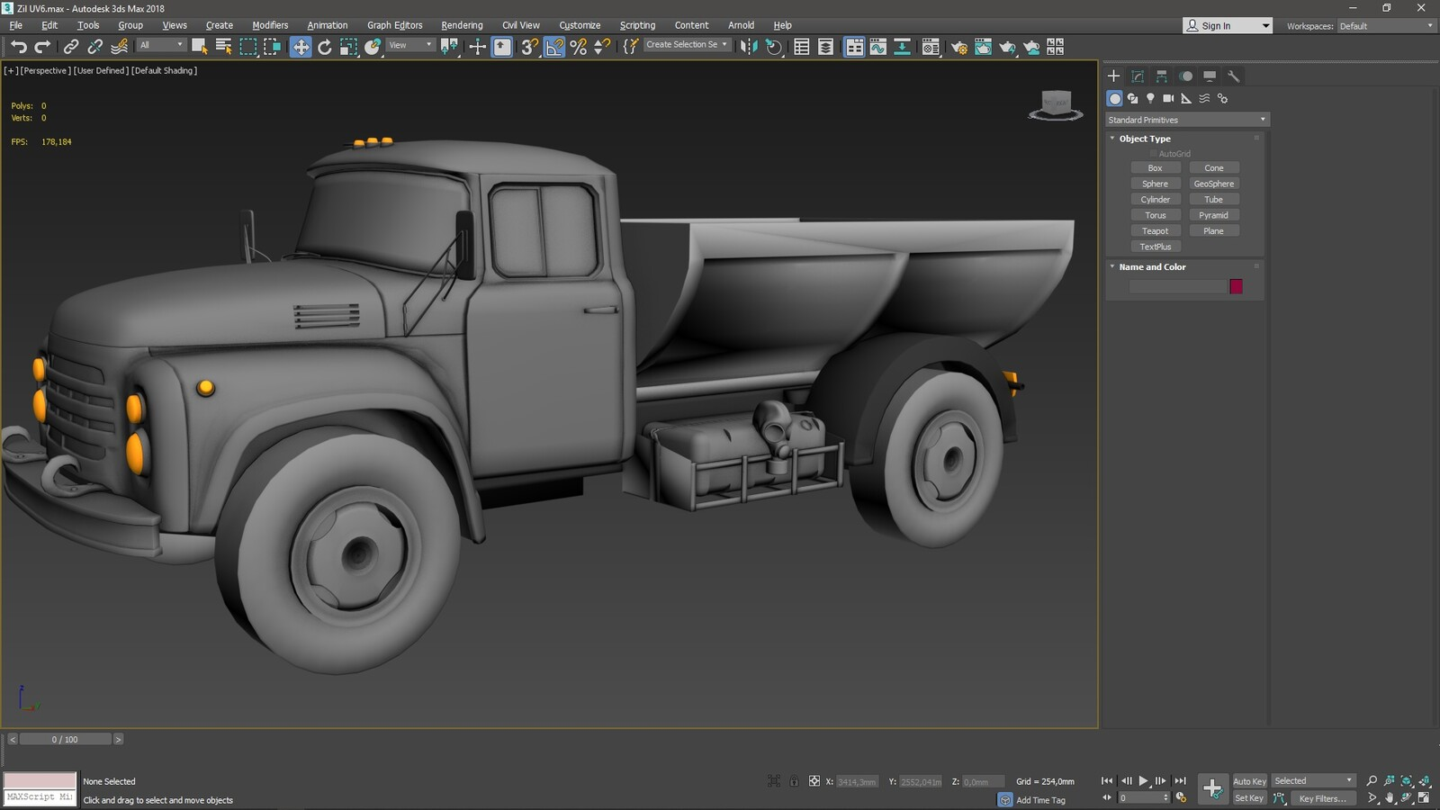 Hi poly in 3ds Max