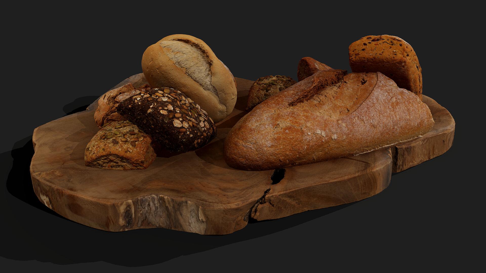 Bread and Bread Rolls