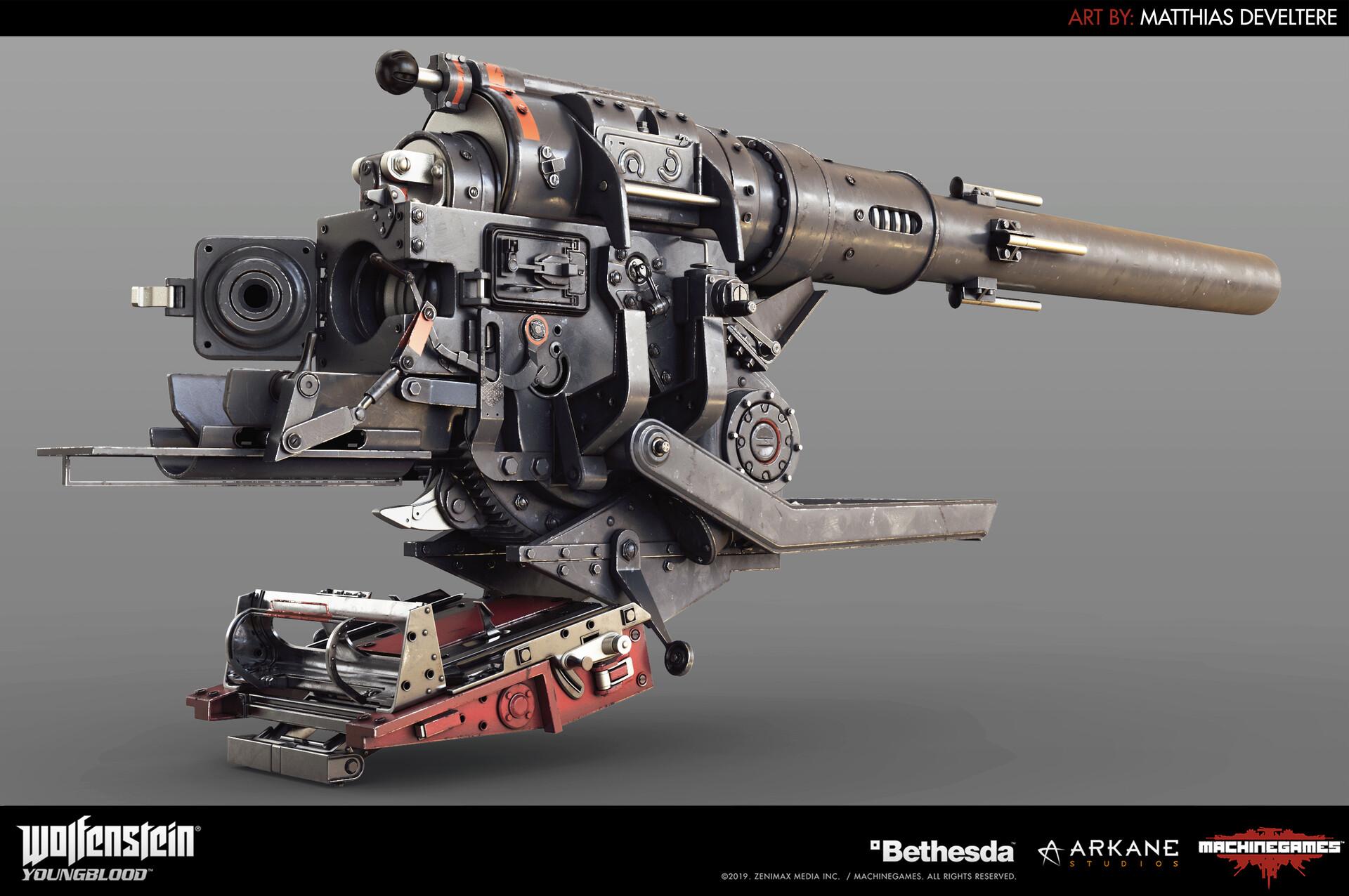 Matthias develtere artillery