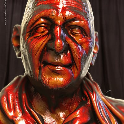 Surajit sen tarak digital sculpture surajitsen aug2019