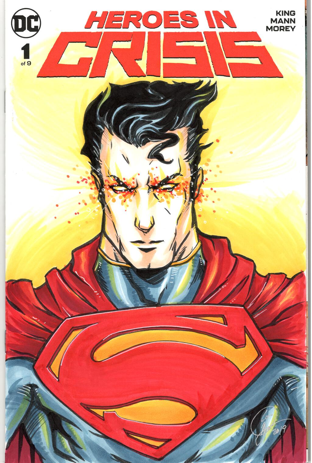 Loc nguyen heroes in crisis superman sketchcover by loc nguyen