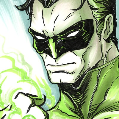 Loc nguyen 2019 04 17 the green lantern