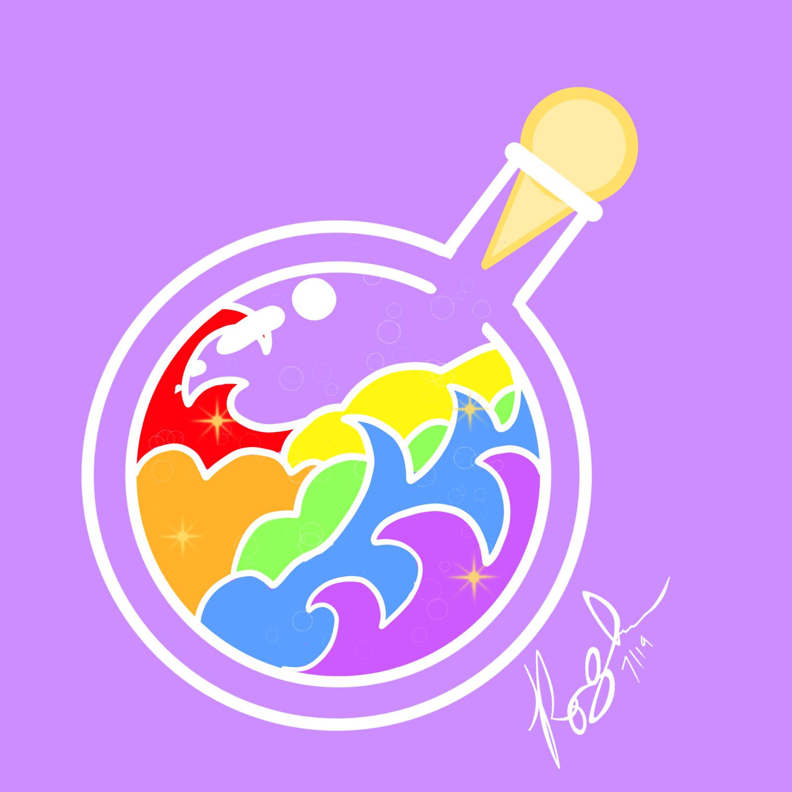 Seconds Pride Potions Pastel Queer