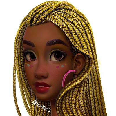 Mervin kaunda new doll1