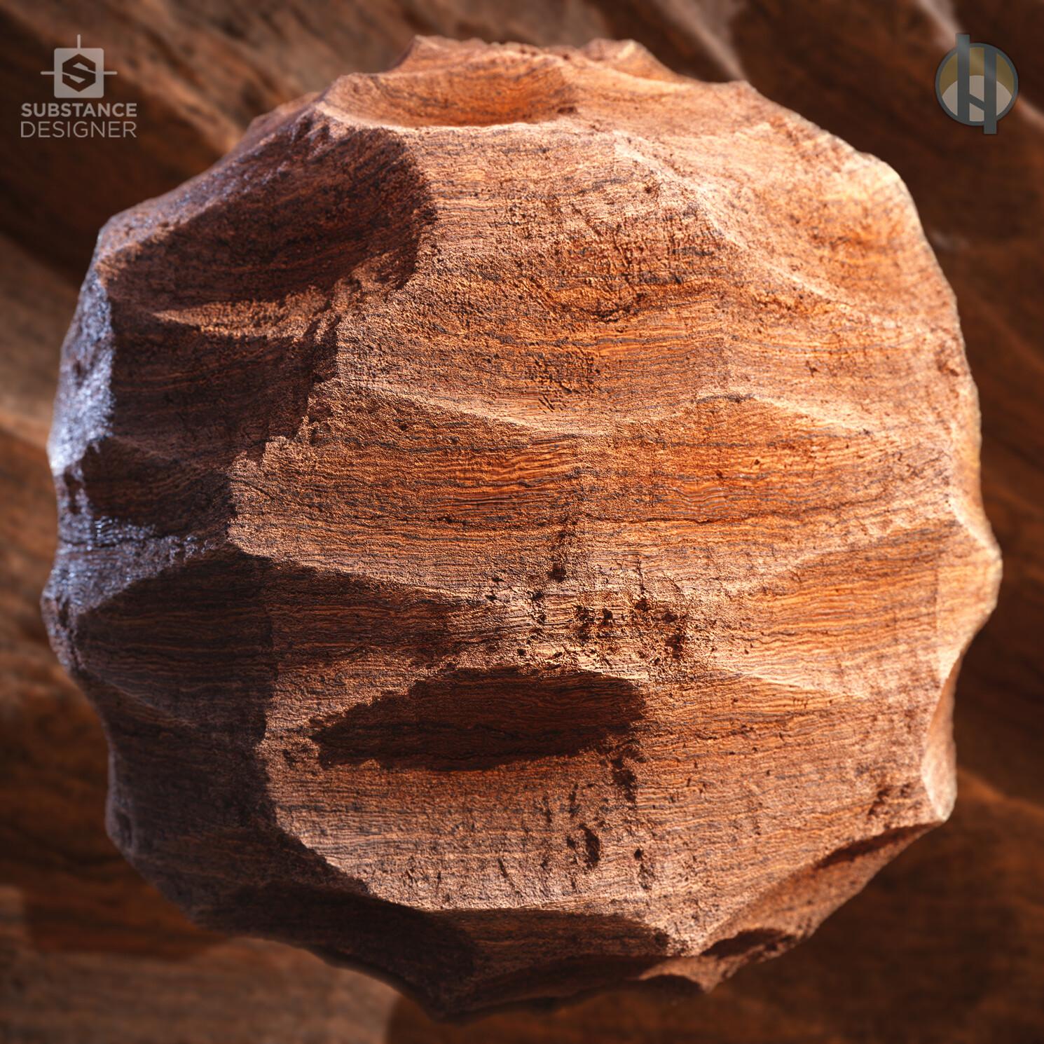 Justin hrala cliff rock sandstone wavy