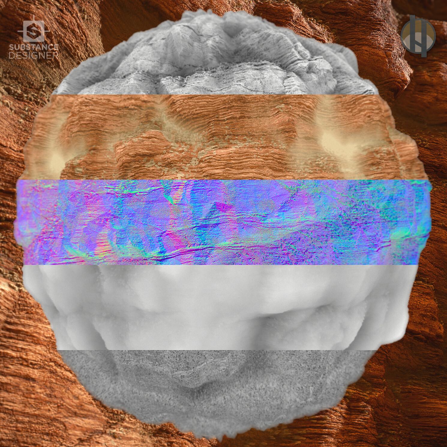 Justin hrala cliff rock sandstone boulder breakdown