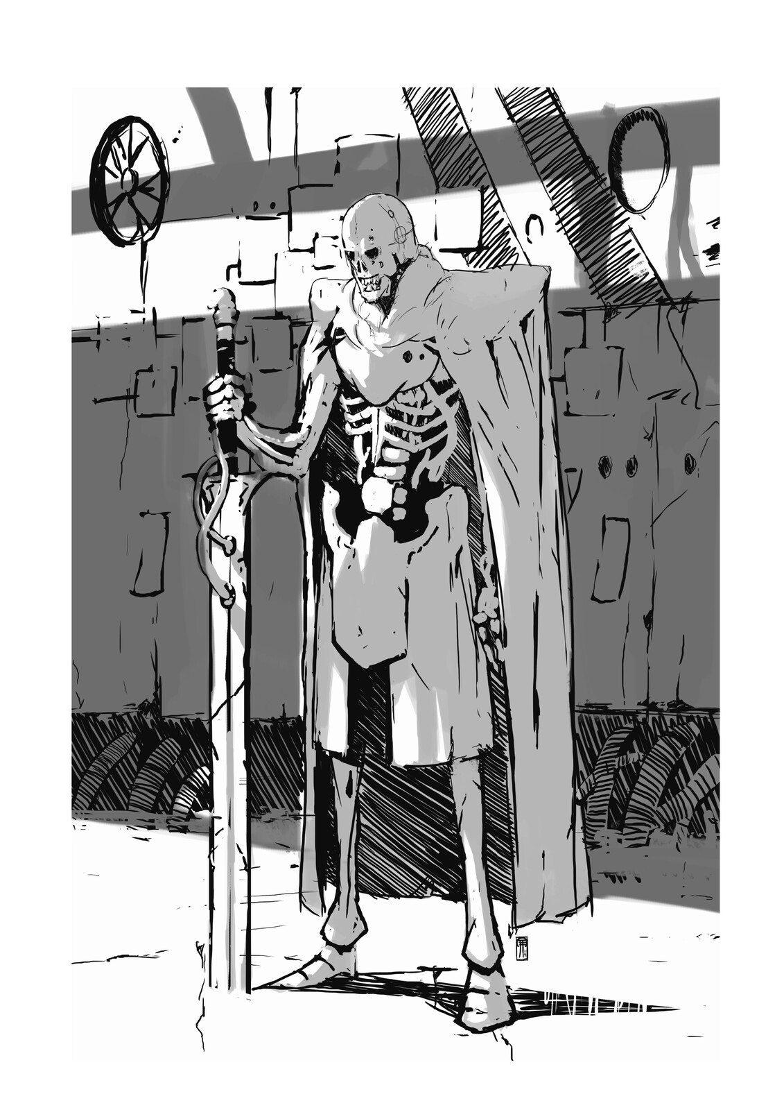 Space Lich Guardian