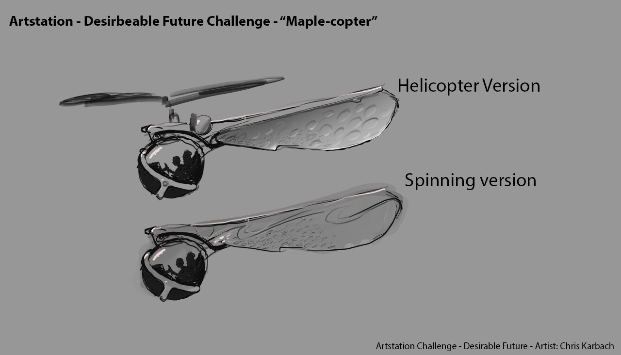 The Maple-Copter  :D