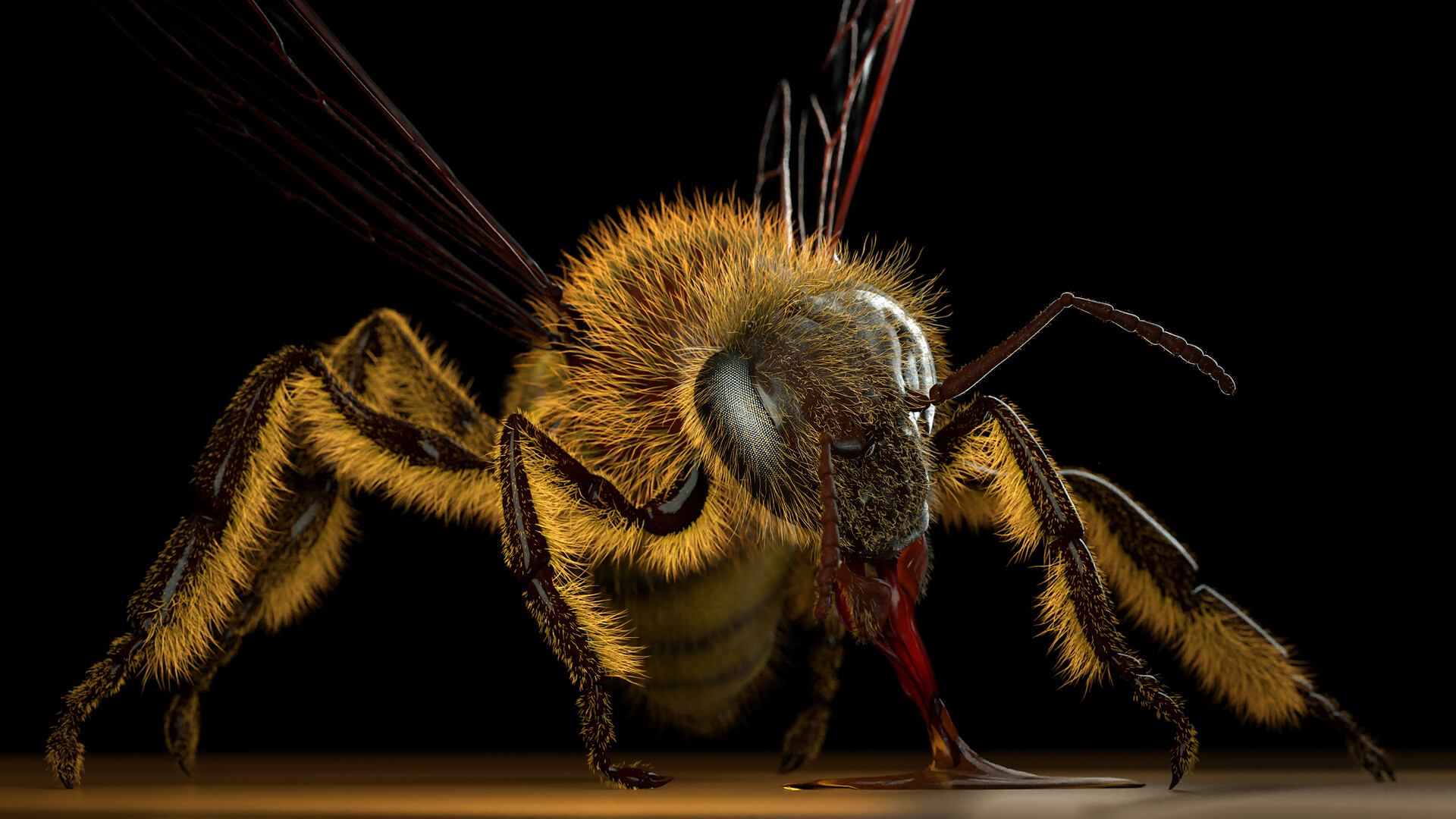 Eric keller bee large render 01