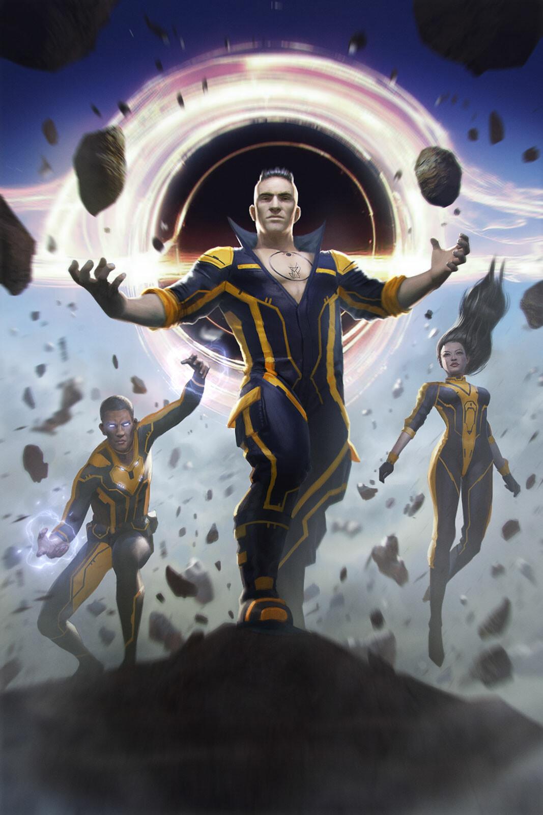 Sci-fi Book Cover