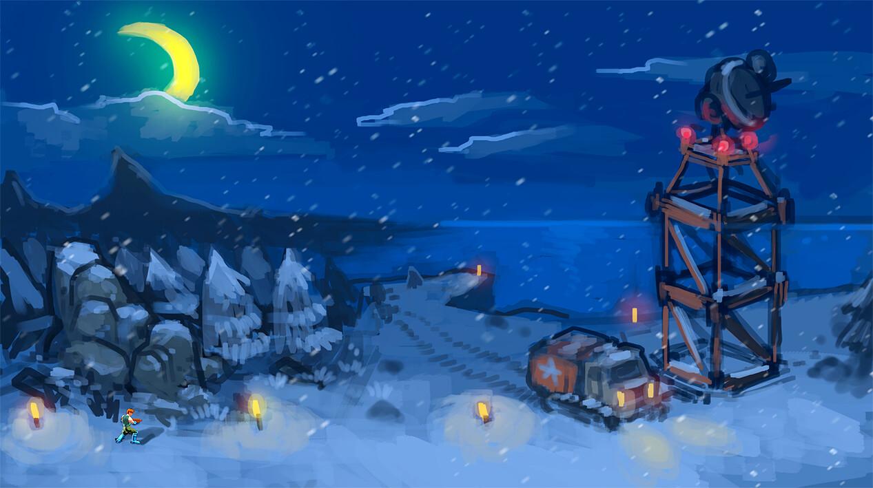Winter Base 02