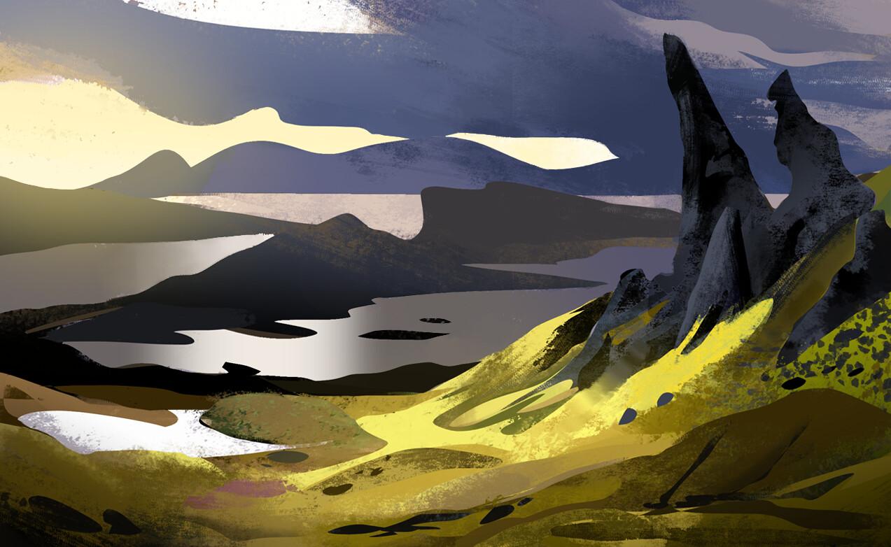 Tengu arts landscapes 1