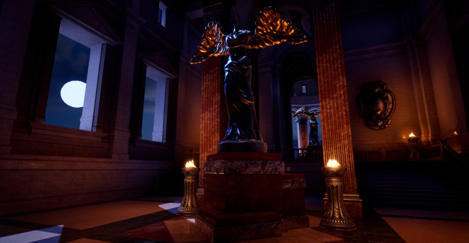 Main Hall Moon -Night