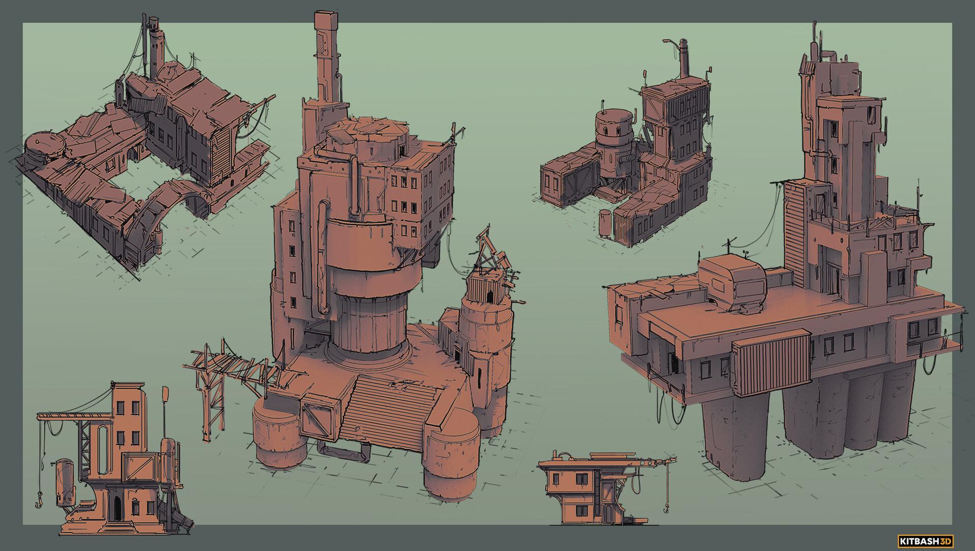 Sebastian luca kb3d wastelands kit2